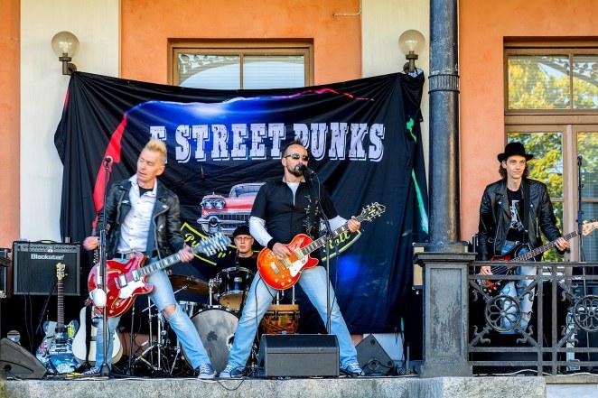 E Street Punks Hakasalmen huvila 4.9.2016
